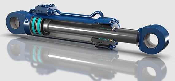 Construction Grade Hydraulic Cylinders | Texas Hydraulics